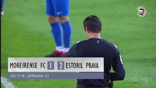 Video Gol Pertandingan Moreirense vs Estoril Praia
