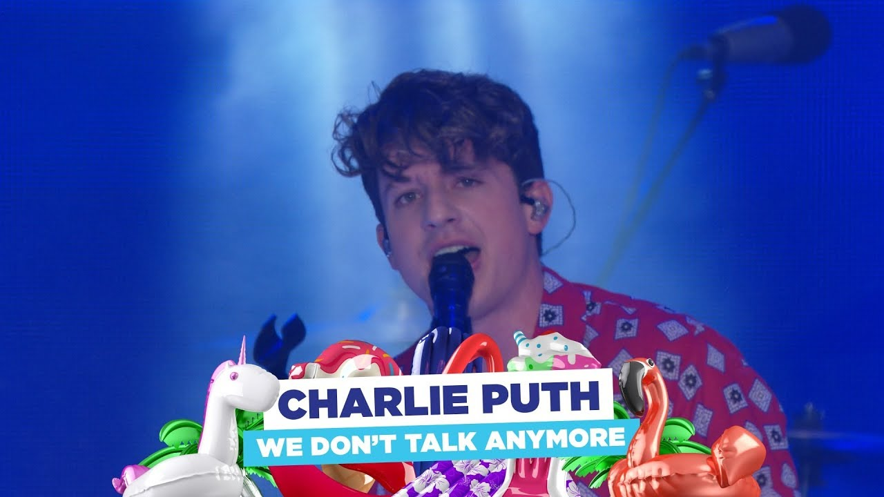 Download Charlie Puth - 'We Don't Talk Anymore' (live at Capital's Summertime Ball 2018)
