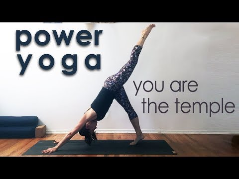 Power Yoga Workout ~ You are the Temple