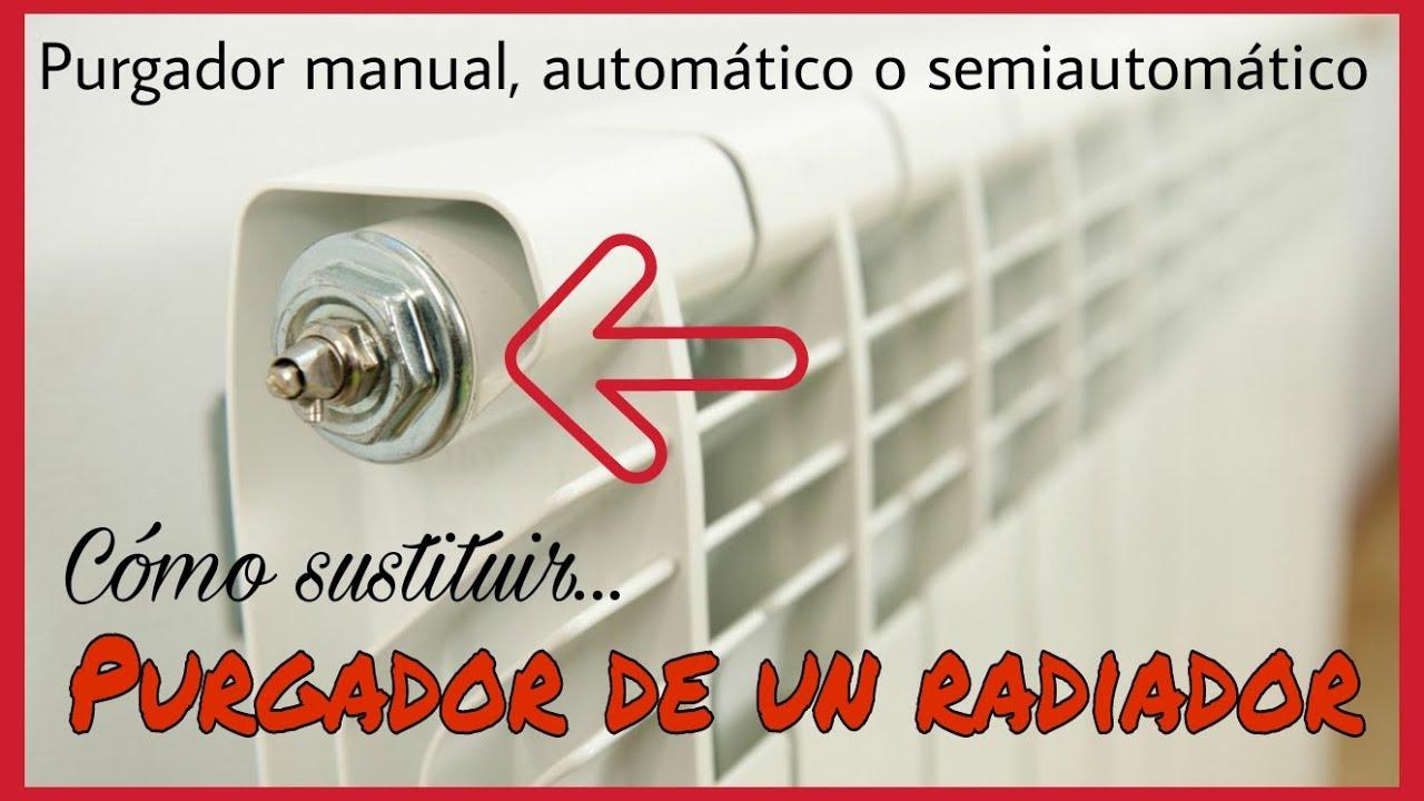 C mo sustituir el purgador de aire en un radiador tipos - Radiadores de aire ...