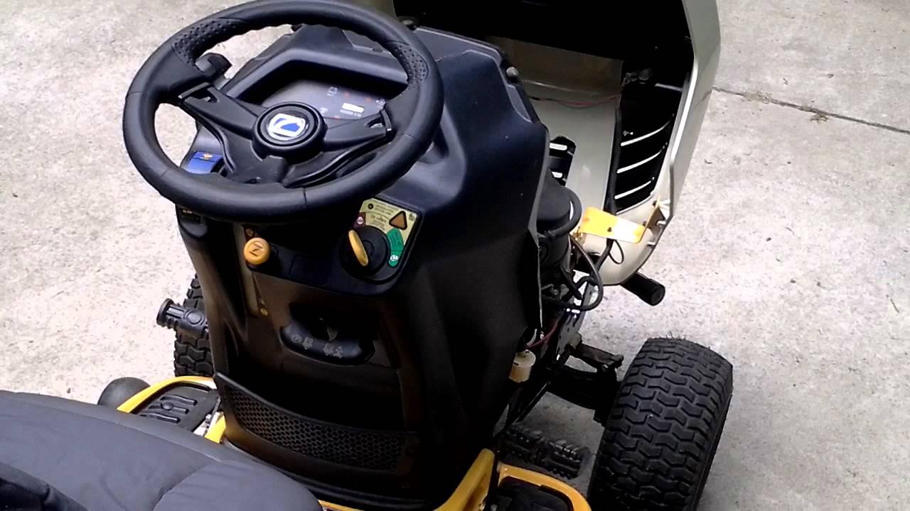 Cub Cadet Ltx 1042 Kw Lawn Tractor : My ltx kw youtube