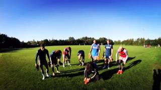 ICELANDIC WAY to clean the shoes after training.