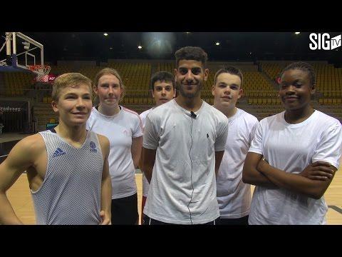 Quand 12 jeunes basketteurs réalisent un rêve...