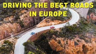 DRIVING THE BEST ROADS IN EUROPE!!