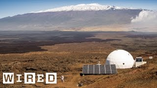 Six Scientists Lived in a Tiny Pod for a Year Pretending They Were on Mars   WIRED