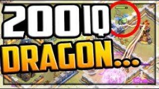 200 IQ Dragon Win Streak 15 TH12 3 Star Attacks Clash of Clans Update June 2019