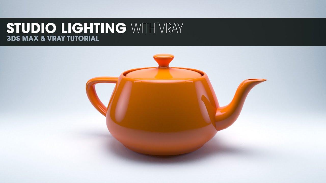 Studio Lighting In Vray 3ds Max 2014 Youtube