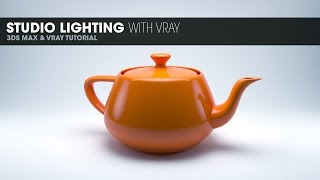 Studio Lighting in Vray - 3DS Max 2014