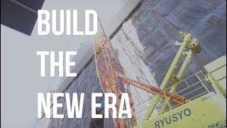 施工管理職(建築職)の仕事「BUILD THE NEW ERA 」