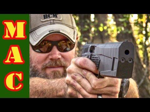 SilencerCo Maxim 9 Integrally Suppressed Handgun