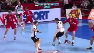 Handball EM: Die dramatische Schlussphase der Partie Deutschland Russland | Sportschau