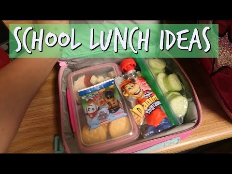 school lunch ideas for picky eaters 2 year old 6 year old youtube