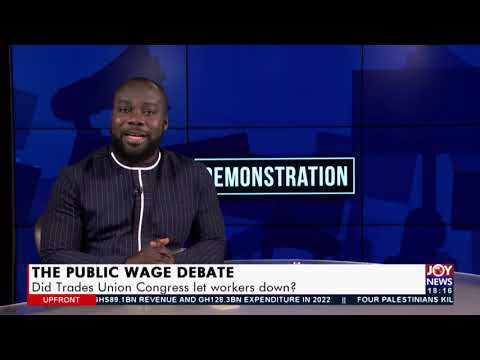 Aggrieved public sector workers hit the streets to protest 4% salary increment (18-8-21)