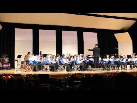 Warren Woods Middle School Cadet Band - Jingle Bells! Samba Bells!