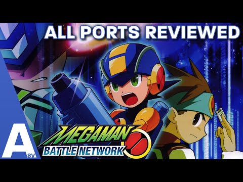 The Port/Crossover We Never Got In The West - Mega Man Battle Network Port Review