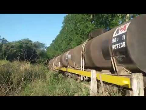 Tren tanque bala sin fin cuantos vagones tiene