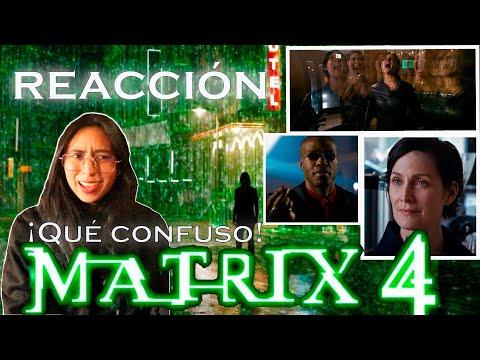🤯La quiero ver yaaaaaaaaa REACCIÓN THE MATRIX 4 RESURRECTIONS ¡Neo y Trinity están de regreso! 😍