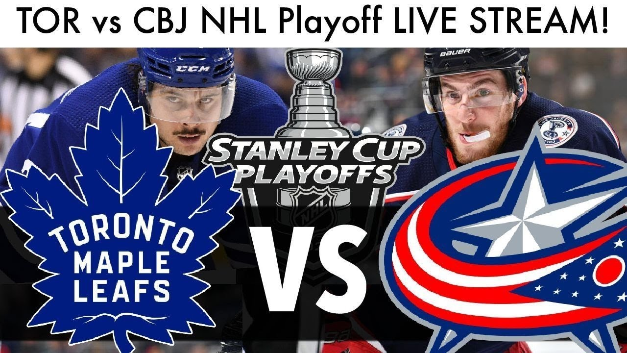 Maple Leafs Vs Blue Jackets Game 5 Live Stream Reaction Nhl Qualifying Playoff Round Talk Youtube