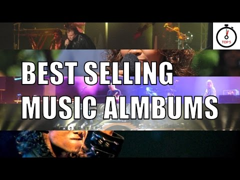 Top 5 best selling music albums