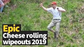 Cheese Rolling   Most Brutal Wipeouts 2019 [MUST SEE VIDEO]