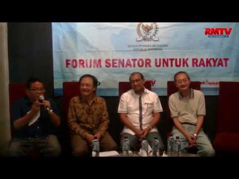Forum Senator untuk Rakyat: Kekayaan Laut dan Daerah untuk Siapa?