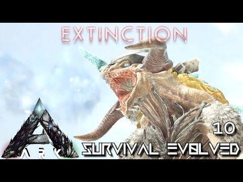 ARK: EXTINCTION - ICE TITAN TAMING THE EASY WAY !!! | ARK