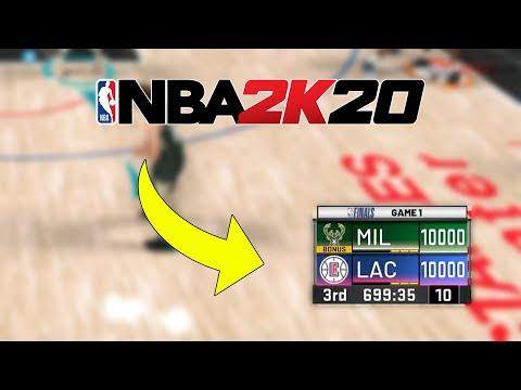 I Scored 10,000 Points In NBA 2K20... |