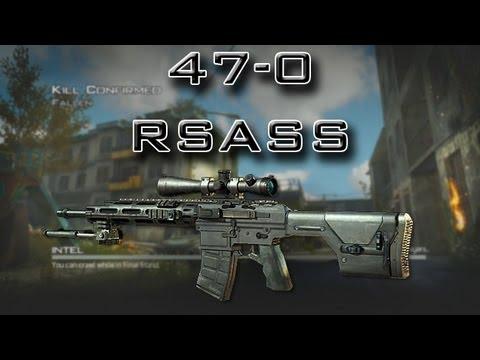 Modern Warfare 3 - Flawless 47-0 - RSASS Silenced (MW3 Sniper tips)