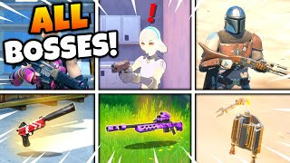 ALL Bosses & Mythic Weapons GUIDE in Fortnite Season 5 Chapter 2!