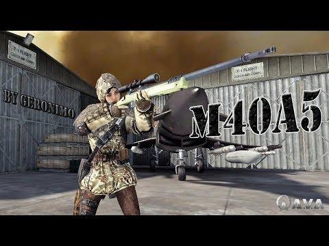 AVA L Frag Movie  M40A5  By GERONIMO #2