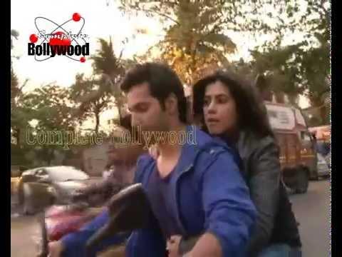 Varun Dhawan & Ekta Kapoor enjoy a bike ride for 'Main Tera Hero'  2