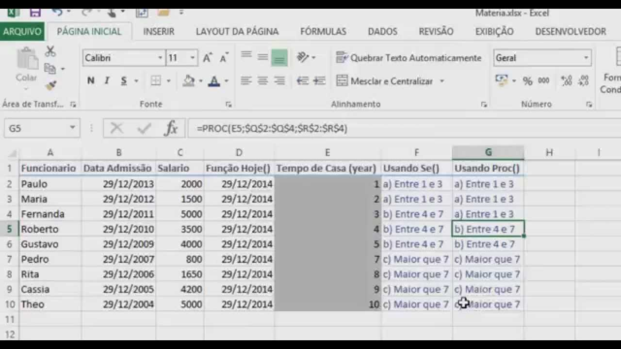COMO USAR FUNÇÃO SE, FUNÇÃO E e PROC JUNTAS, Tabela Dinâmica,  Treinamento de Excel Avançado