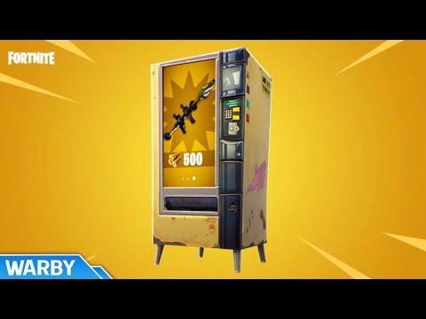 All Vending Machine Locations (Season 10) - Fortnite Battle Royale