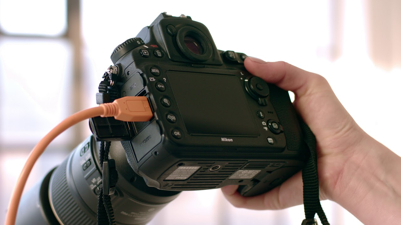 Test Driving Nikon D90 Video With 10 >> Shooting Tethered Introduction Capture One