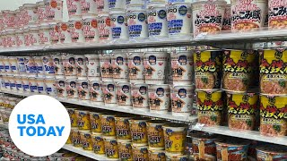 Adventures in a Japanese convenience store during the Tokyo Olympics | USA TODAY