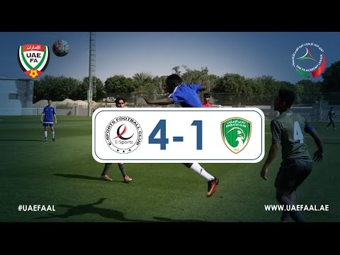 UAE FAAL - E-Sports FC 4-1 Emirates Club | Week 1 Highlights