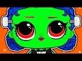 LOL DOLL TRANSFORMATION INTO ZOMBIE | CUSTOM LOL DOLL | HALLOWEEN | Cartoons for Kids 2018