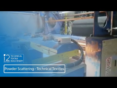 Powder Scattering Technical Textiles