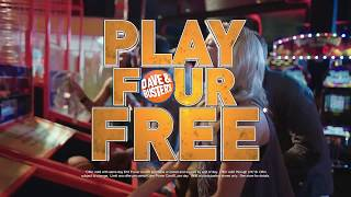 Dave & Buster's | Greatest Hits | Play 4 Games Free