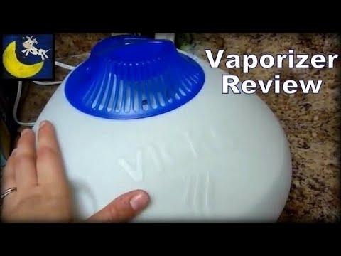 Review of Vicks Warm Steam Vaporizer with VapoPads, VapoSteam & Kaz Inhalant