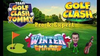 Golf Clash tips, Playthrough, Hole 1-9 - PRO & EXPERT - Winter Major Tournament!