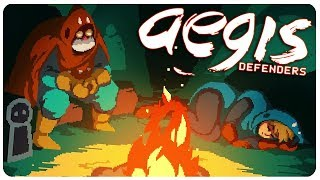 Aegis Defenders - Build, Defend, Explore! Beautiful Pixel Game | Aegis Defenders Gameplay
