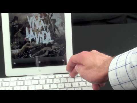 Apple iPad 2 and the Keyboard Dock: Demo