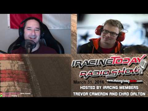 iRacing Today Radio Show #137 - March 31st, 2016