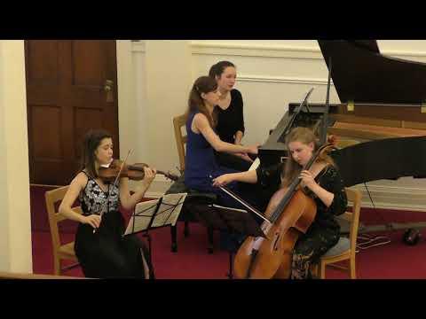 Garth Newel Emerging Artists Perform Tchaikovsky Piano Trio