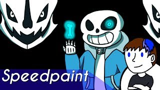 Undertale Sans speedpaint-You are going to have a bad TIME... | Xtream Animations