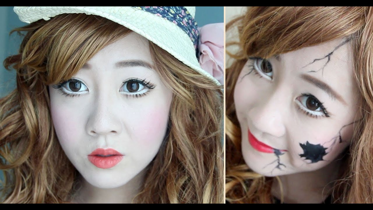 porcelain / broken doll transformation - youtube