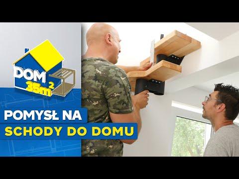 Dom 35 m2 - odc. 12 - Jak zamontować schody modułowe w domu