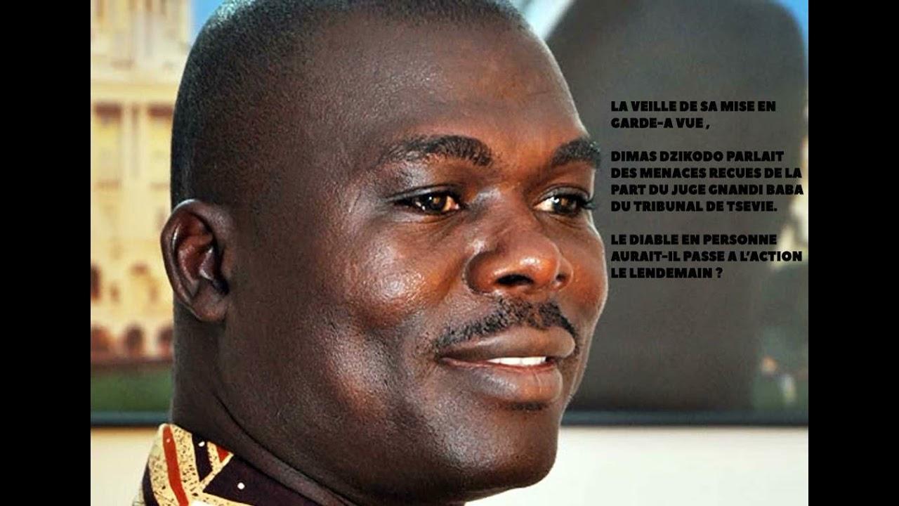 Download Togo:voici ce que Dimas Djikodo révélait avant son arrestation