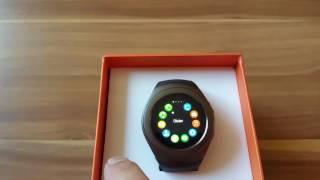 LYW9 Smartwatch with SIM Card For $29! ( galaxy gear s2 clone !)